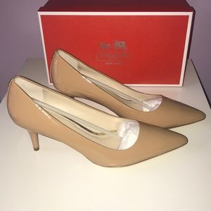 Coach Grand Patent Leather Pumps